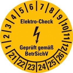 Elektro-Check BetrSichV